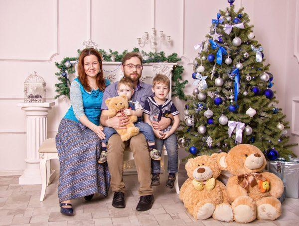 Семья Косаевых