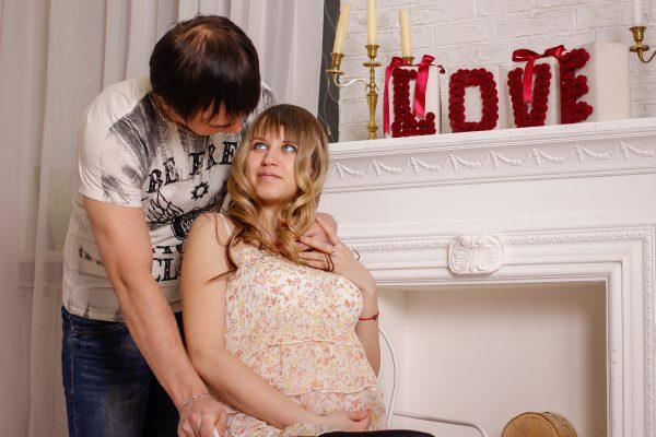 В ожидании чуда. Фотосъемка беременных. Заказать фотографа.