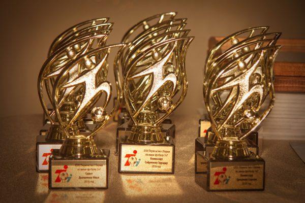 Церемония награждения XXXI Первенства города Перми по мини-футболу 7х7