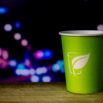 Рекламная фотосъемка, бумажные одноразовые стаканы